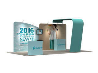 3x6 Exhibition Booth Solution 025