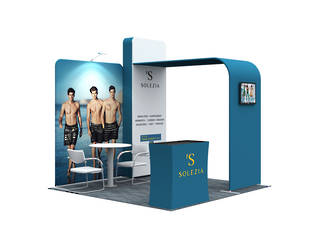 3x3 Exhibition Booth Solution 001