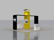 6x6 Exhibition Booth Solution 005