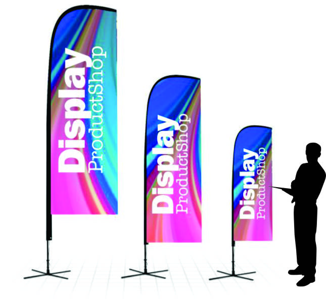 Flag Banner Sail Display Product Shop