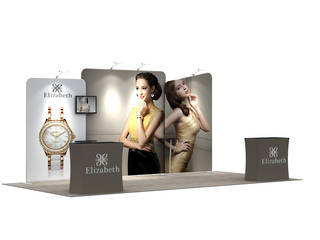 3x6 Exhibition Booth Solution 202
