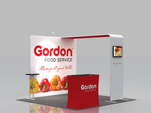 3x3 Exhibition Booth Solution 052