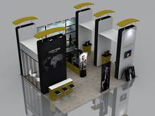 6X9Exhibition Booth Solution 601